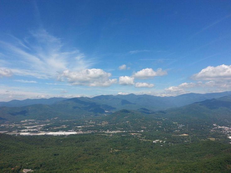Overlooking Swannanoa Valley. The gateway to Asheville