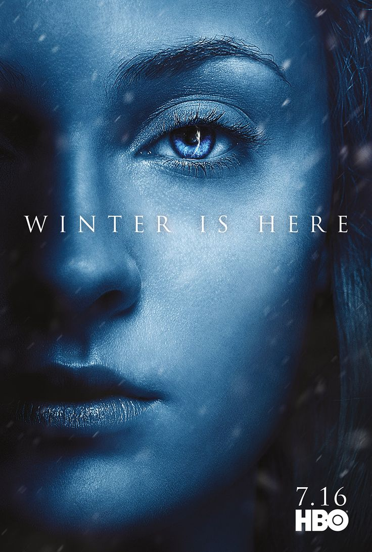 Character Posters for Game of Thrones Season 7 Revealed – Winter is Here!: SANSA