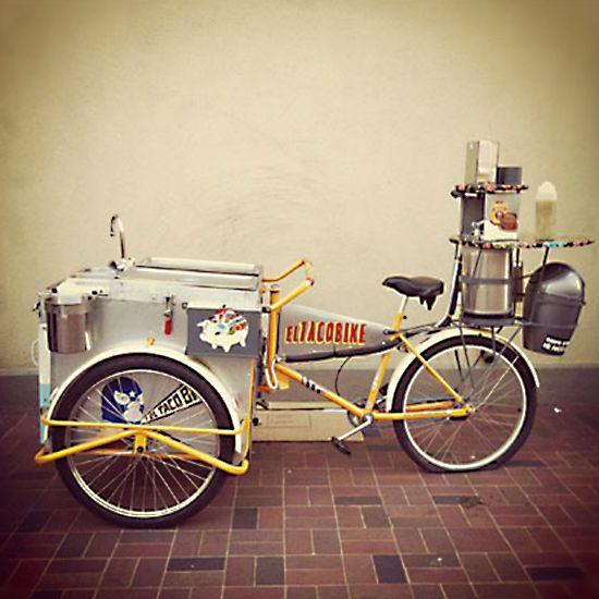 Bike Food Carts: El TacoBike