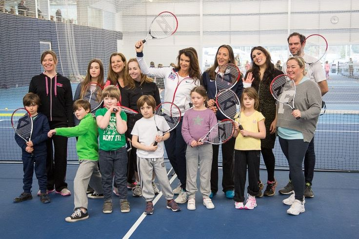 Kids Play Tennis with Annabel Croft & We Watch Andy & Jamie Murray Play at the Davis Cup #TennisForKids