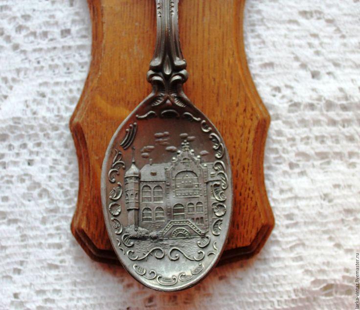 Купить Оловянная ложка на подставке Германия - серебряный, оловянный солдатик, оловянный свадьба, Оловянная