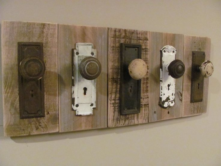 Rustic Antique Coat Rack - One of a Kind. $150.00, via Etsy.