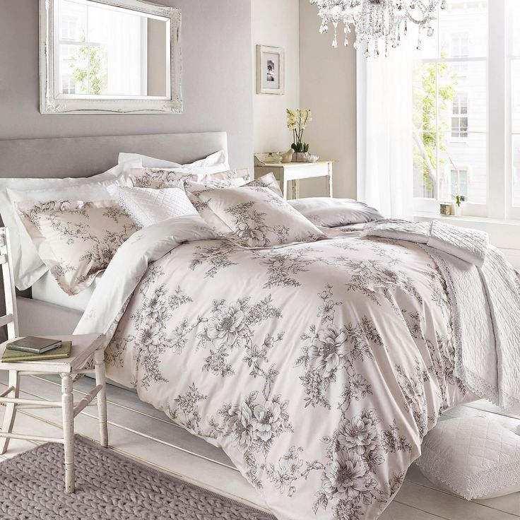 Holly Willoughby Jenna Pink Bed Linen Collection | Dunelm