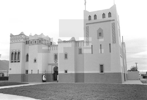 Sidi Ifni.- Edificio sede de la administración colonial situado en la Plaza de España.- (Sin fecha, 1957-58) EFE/jt