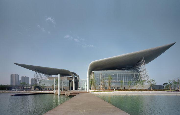 Galeria - Teatro Wuxi / PES-Architects - 81 #architeture #pin_it @mundodascasas Veja mais aqui(See more here) www.mundodascasas.com.br