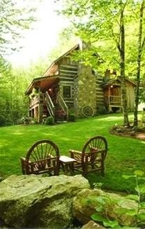 Boone Cabin Rental: Sleepy Creek-antique Log Cabin On Beautiful Stream Near Boone | HomeAway