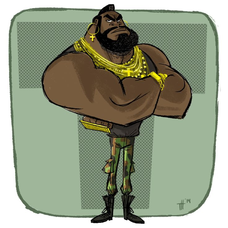 Playin' a little catch-up with@Sketch_Dailiesand#MrT. I pity the fool who falls behind!!