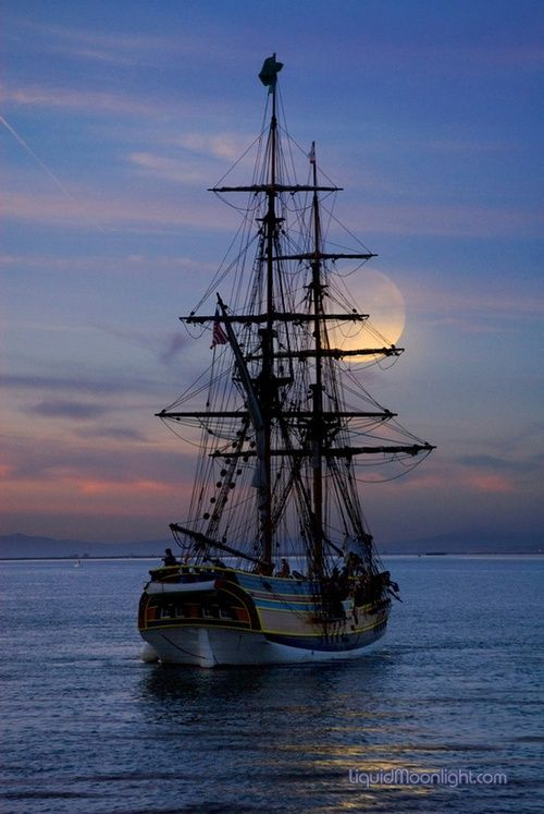 Beautiful Moon and sail boat.  Go to www.YourTravelVideos.com or just click on photo for home videos and much more on sites like this.