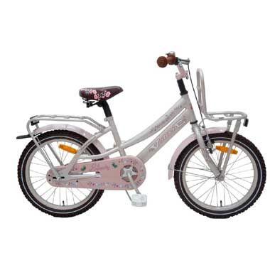 Volare Liberty Urban Cruiser meisjesfiets - 18 inch - roze  Elk trendy meisje wil wel fietsen op deze schitterende 18 inch fiets! De fiets is in een prachtige zachte parelroze metallic kleur uitgevoerd en heeft een mooi design. Heerlijk om op te fietsen en een lust voor het oog!  EUR 155.12  Meer informatie