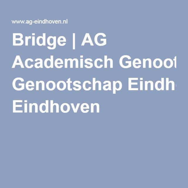 Bridge   AG Academisch Genootschap Eindhoven