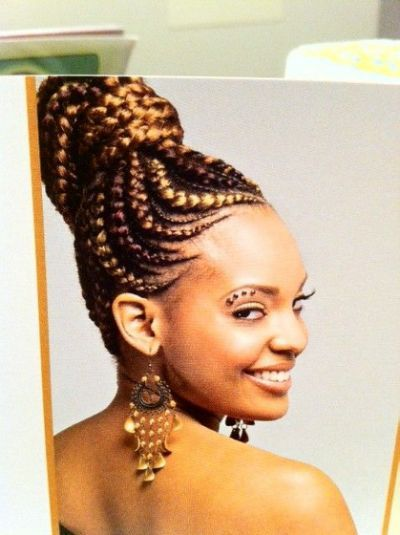 African Braids Hairstyles find this pin and more on teens and tweens braids and natural styles by profisis African Goddess Braids Hairstyle