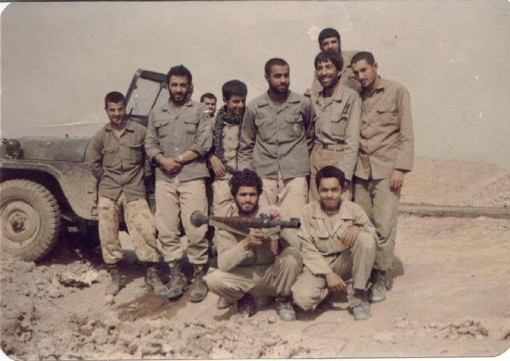 Iranian Willys M38A1 Jeep, Iran-Iraq War.