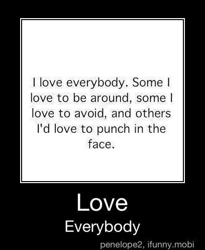 Right in the face, lol!The Face, True Stories