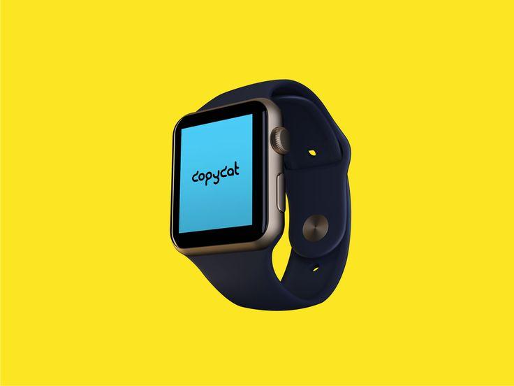 Realistic Apple Watch Mockup FREE! (psd mock up)