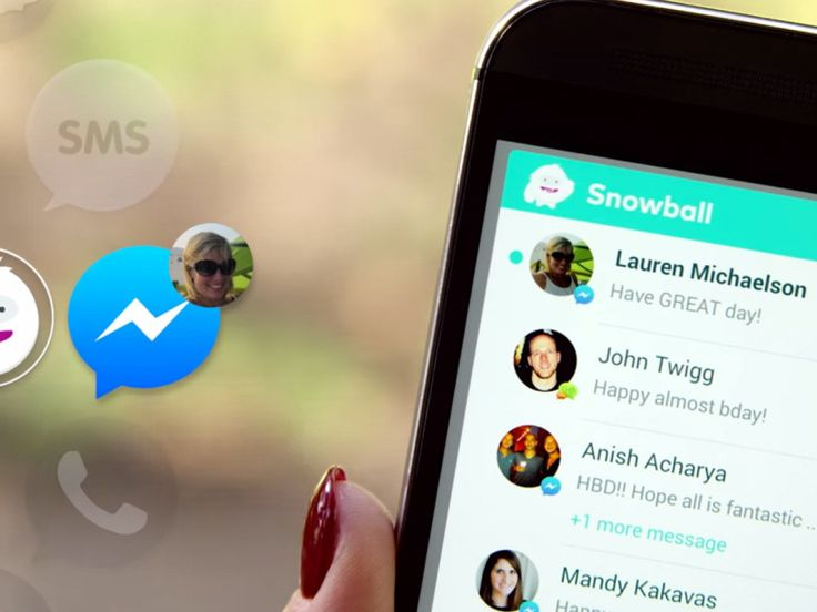 A new mobile application called Snowball, launching today, is going to give iPhone users Android envy. The app serves as a universal inbox for your many mobile messaging clients.