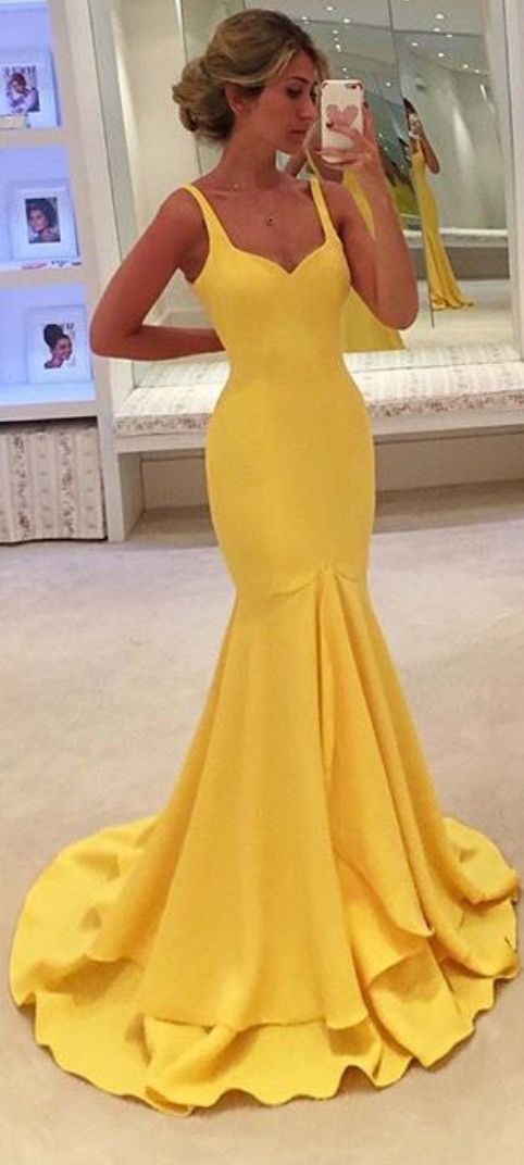 #yellow  #satin #prom #party #evening #dress #dresses #gowns #cocktaildress #EveningDresses #promdresses #sweetheartdress #partydresses #QuinceaneraDresses #celebritydresses #2016PartyDresses #2016WeddingGowns #2017HomecomingDresses #LongPromGowns #blackPromDress #AppliquesPromDresses #CustomPromDresses #backless #sexy #mermaid #LongDresses #Fashion #Elegant #Luxury #Homecoming #CapSleeve #Handmade #beading