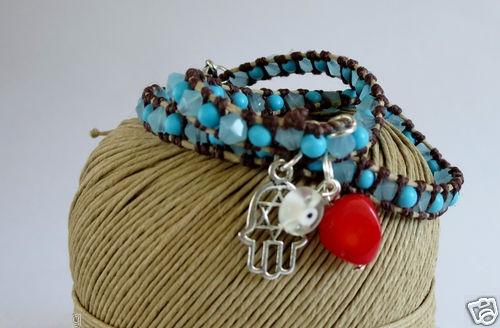 Evil eye- bracelets featuring the Hamsa hand, MANO DE FATIMA, OJO TURCO | eBay