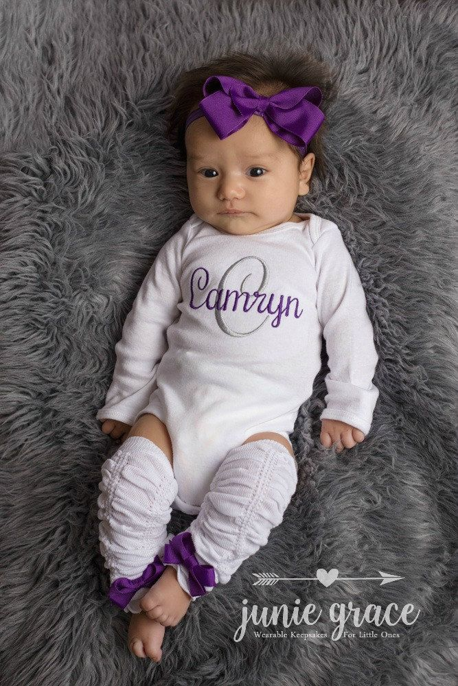 Newborn Baby Girl Outfit Baby by juniegrace on Etsy