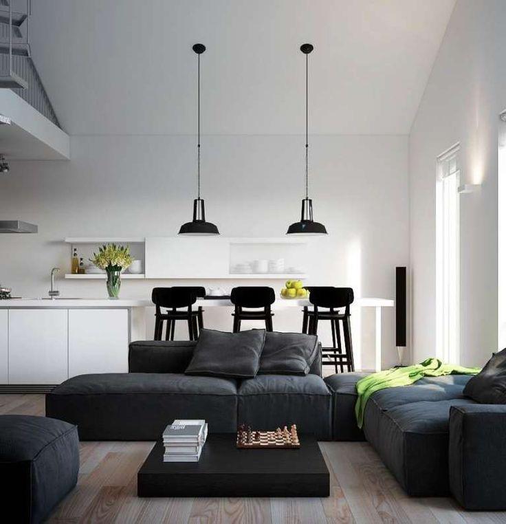 Soggiorno piccolo con angolo cottura (Foto) | Designmag