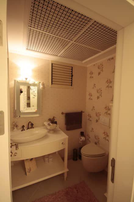 Deça Mimarlık  – AHMET ASLI İLHAN EVİ : rustik tarz tarz Banyo