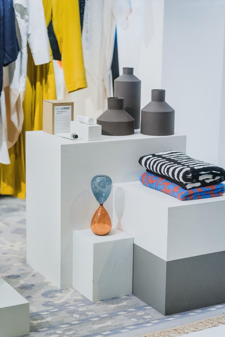 Window display for Norway Designs by Live Berg and Josefin Johansson Studio