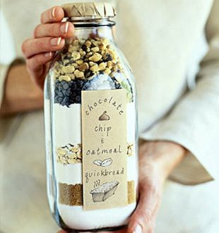 Recipes in a Milk Glass Bottle. San Jose