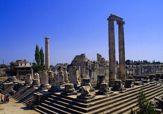 hellenistic temple of apollo didyma near miletus