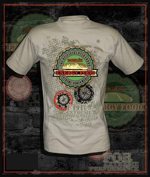 Tričko pánské s rohlíkem tričko s rohlíkem vtipné tričko