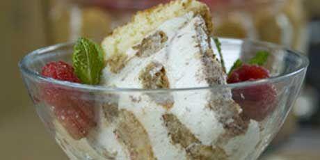 Eat Shrink and Be Merry - Tir-rific Tiramisu Trifle