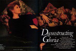 The Philosophy of Gloria Steinem, Patron Saint of American Feminism