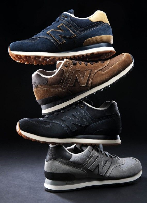 New Balance 574 .. I use to rock these waaaay back in the day, but I saw them on @Drew Wooten feet the other day and had to get me a pair.....