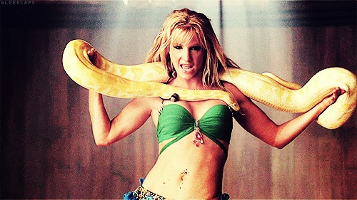 Brittany S. Pierce As Britney Spears