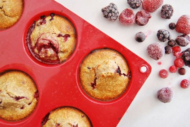 Blueberry Low-Fat Muffins
