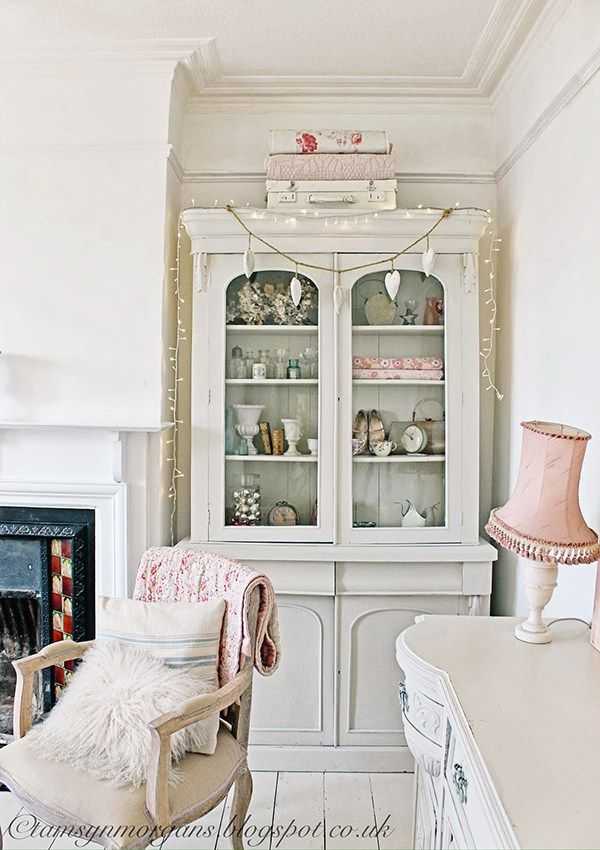 How stunning is this shabby chic living room furniture from Tamsyn Morgans Home This