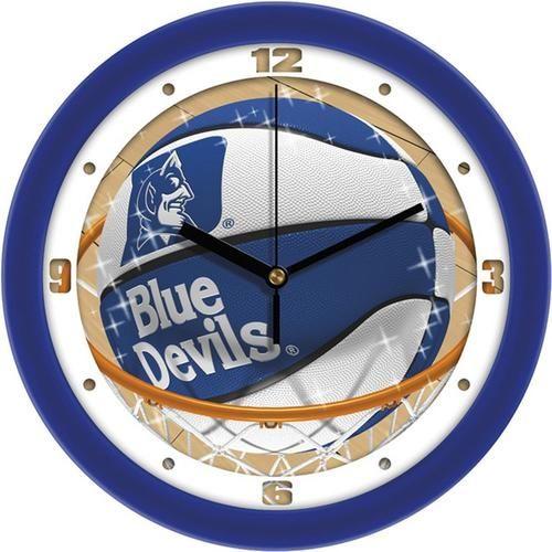 Duke University Blue Devils Basketball Wall Clock