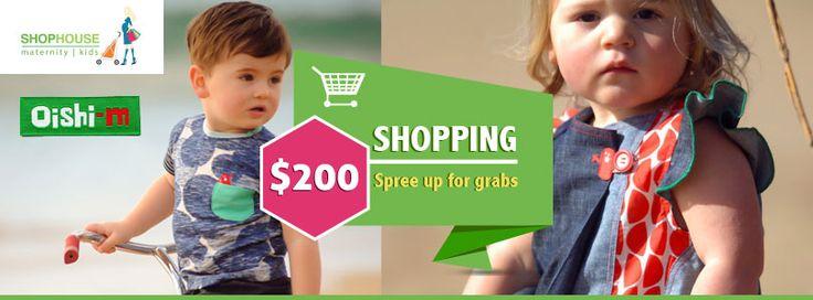 WIN a $200 Shopping Spree :) #Oishi-m #ShoppingSpree #Fashion