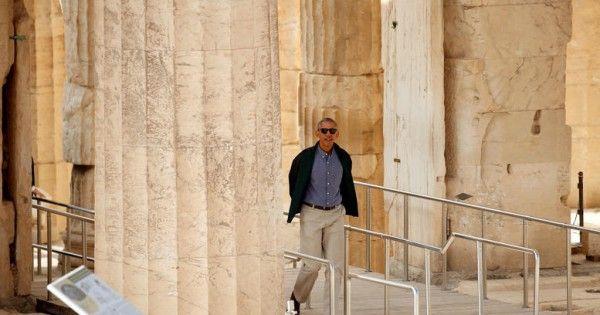 Ο Ομπάμα στην Αθήνα: Όλα όσα συνέβησαν σε ένα μέγα-ποστ