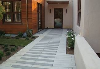 Large scale narrow modular pavers by Stepstone, Inc.
