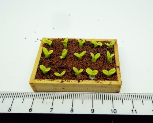 1-12-Scale-Seed-Packet-amp-Seedlings-Dolls-House-Miniature-Garden-Accessory