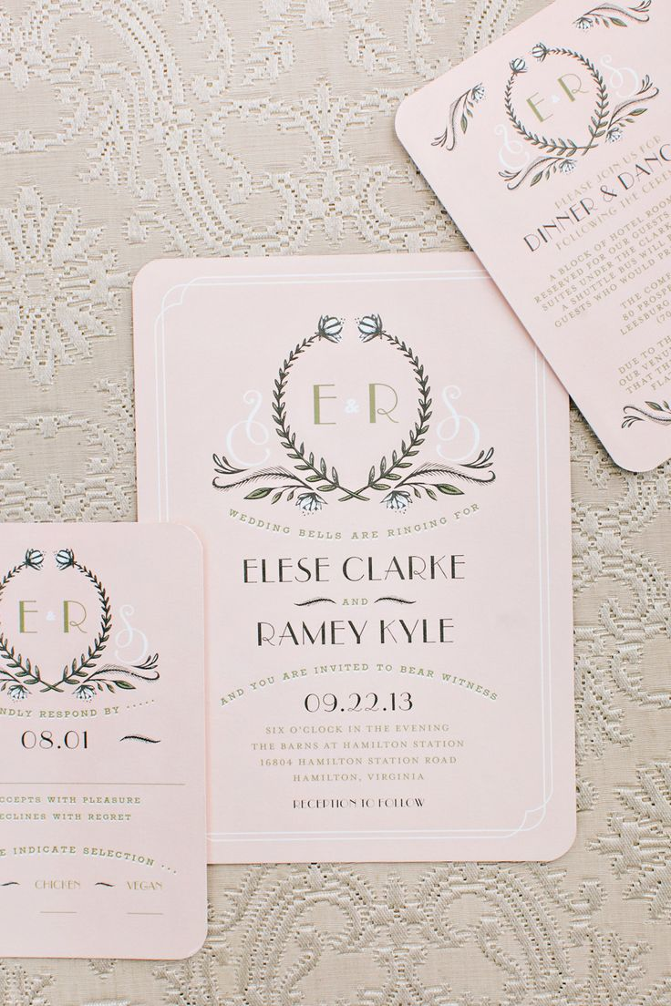 58 Best Wedding Invitations And Save The Date Cards Images On