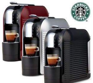 Verismo 583 Coffee, Espresso Maker By Starbucks w/10 Pods: Choose Color - New in Box