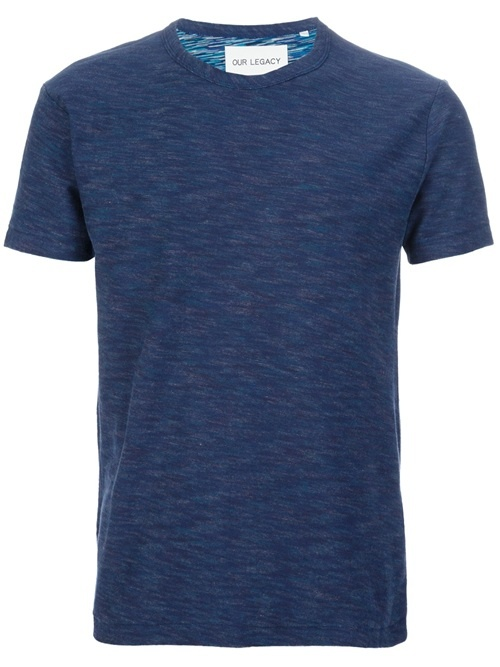 Men - All - Our Legacy Crew Neck T-Shirt - WOK STORE