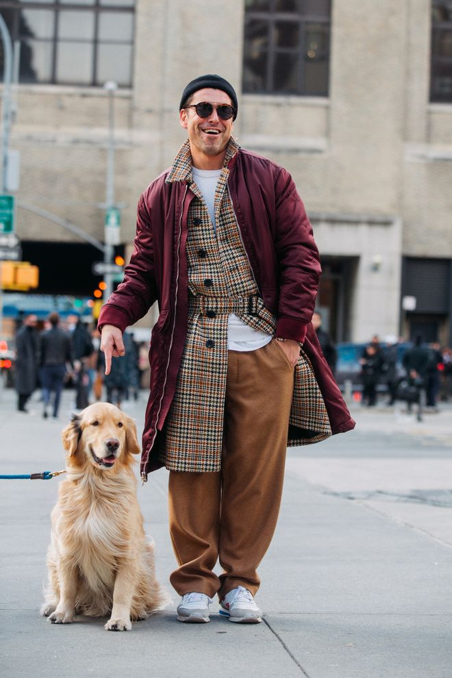 Street Style 224 La Fashion Week Homme Automne Hiver 2017