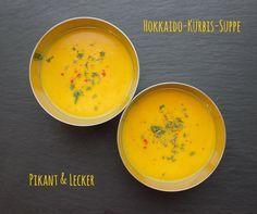 Pikante Hokkaido-Kürbis-Suppe