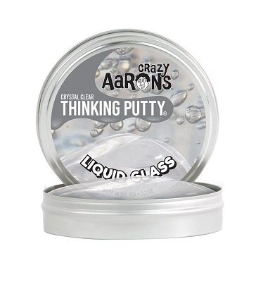 Crazy Aaron's Thinking Putty | Liquid Glass- Large Tin | $15.00 | ECOBUNS BABY + CO. | www.ECOBUNS.com
