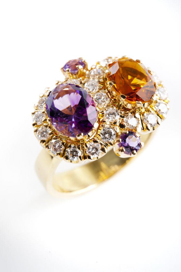 Kohde 1083 Helanderin Toukokuun huutokauppa: Prinsessa Sofia Albertina sormus, kultaseppä Kari Heinonen, Ofelia Jewelry.