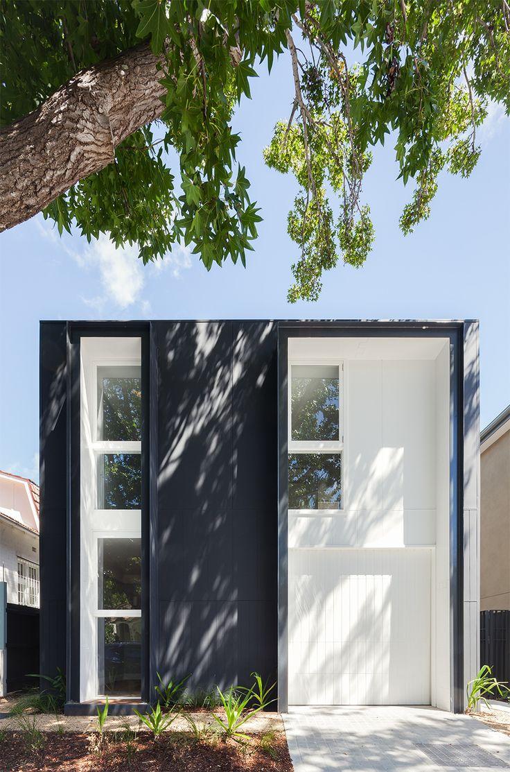 minimal black & white house, by Tribe Studio