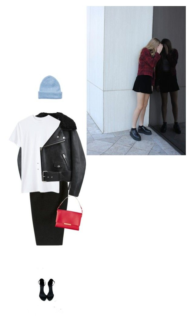 """""""doubt"""" by vintagepage ❤ liked on Polyvore featuring Tak.Ori, Acne Studios, Rick Owens and INDIE HAIR"""