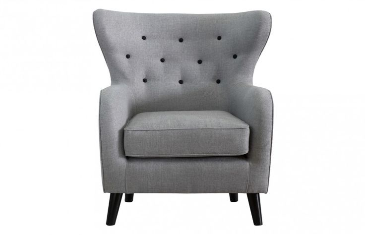 Wilfred Armchair in Stone Grey