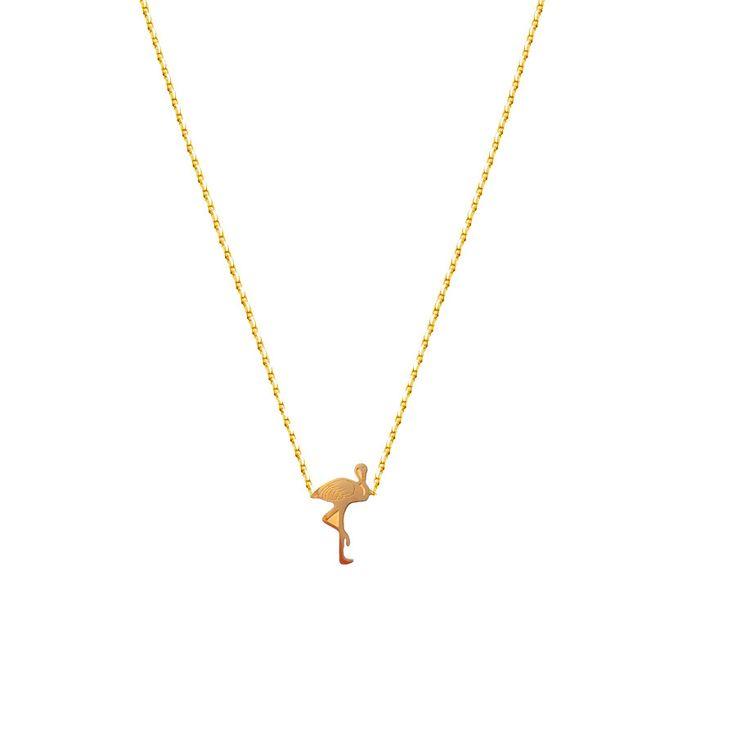 // Vergara Collection - Flamingo Necklace - FLOR AMAZONA